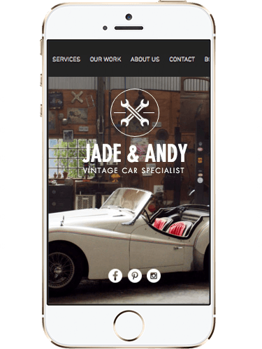 JADE & ANDY Mobile Application