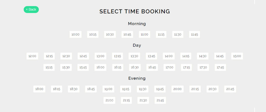 Select Time Booking - Doctor Appointment