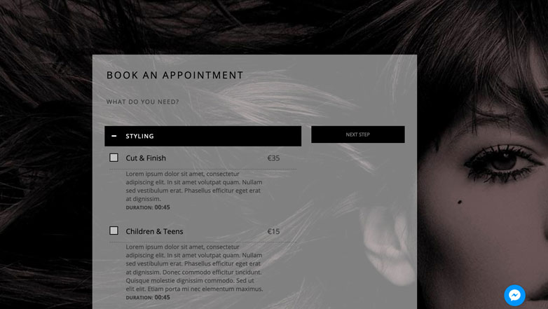 Book Salon & Spa Appointment