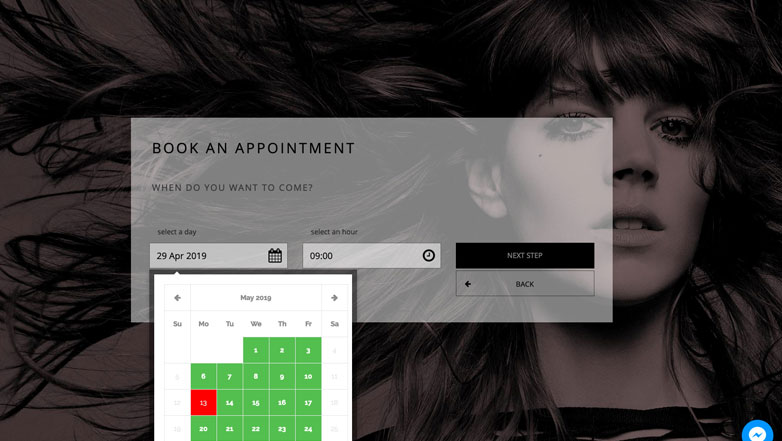 Select Day Salon & Spa Appointment