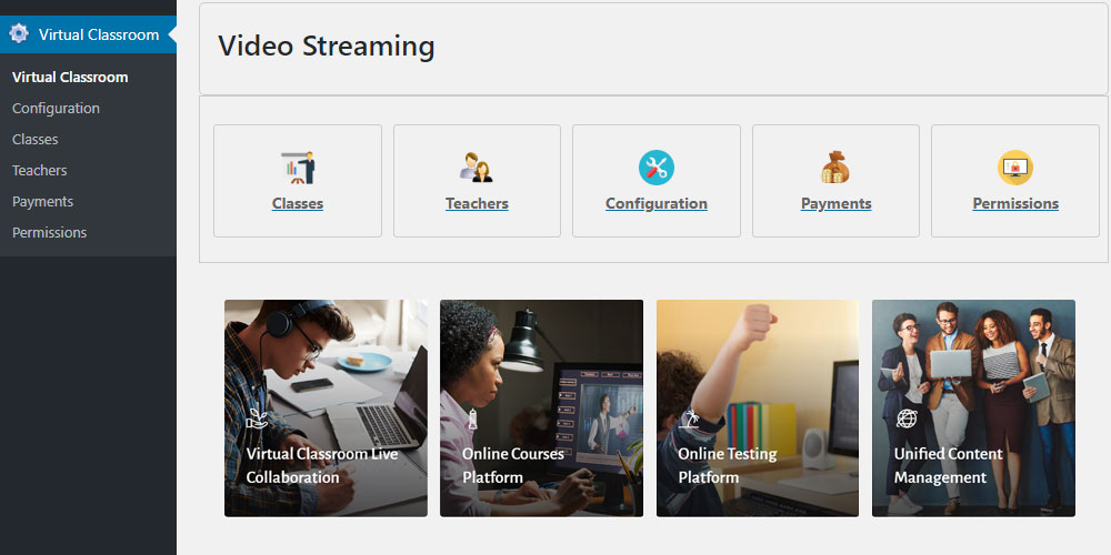 Video Streaming Admin Dashboard