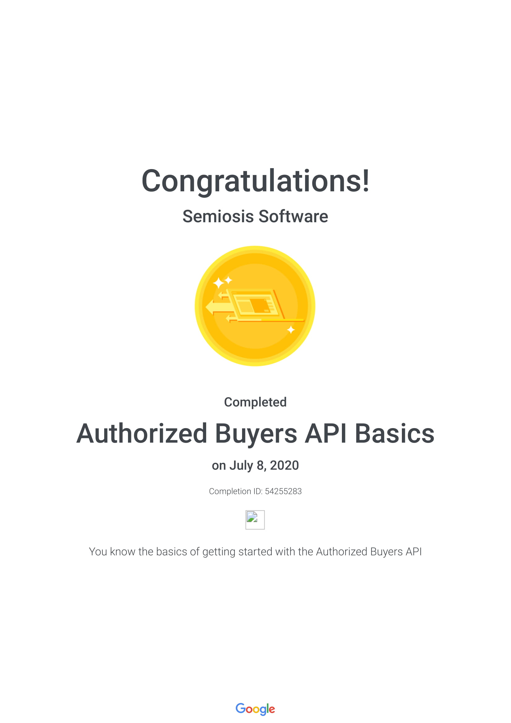 Authorized Buyers API Basics