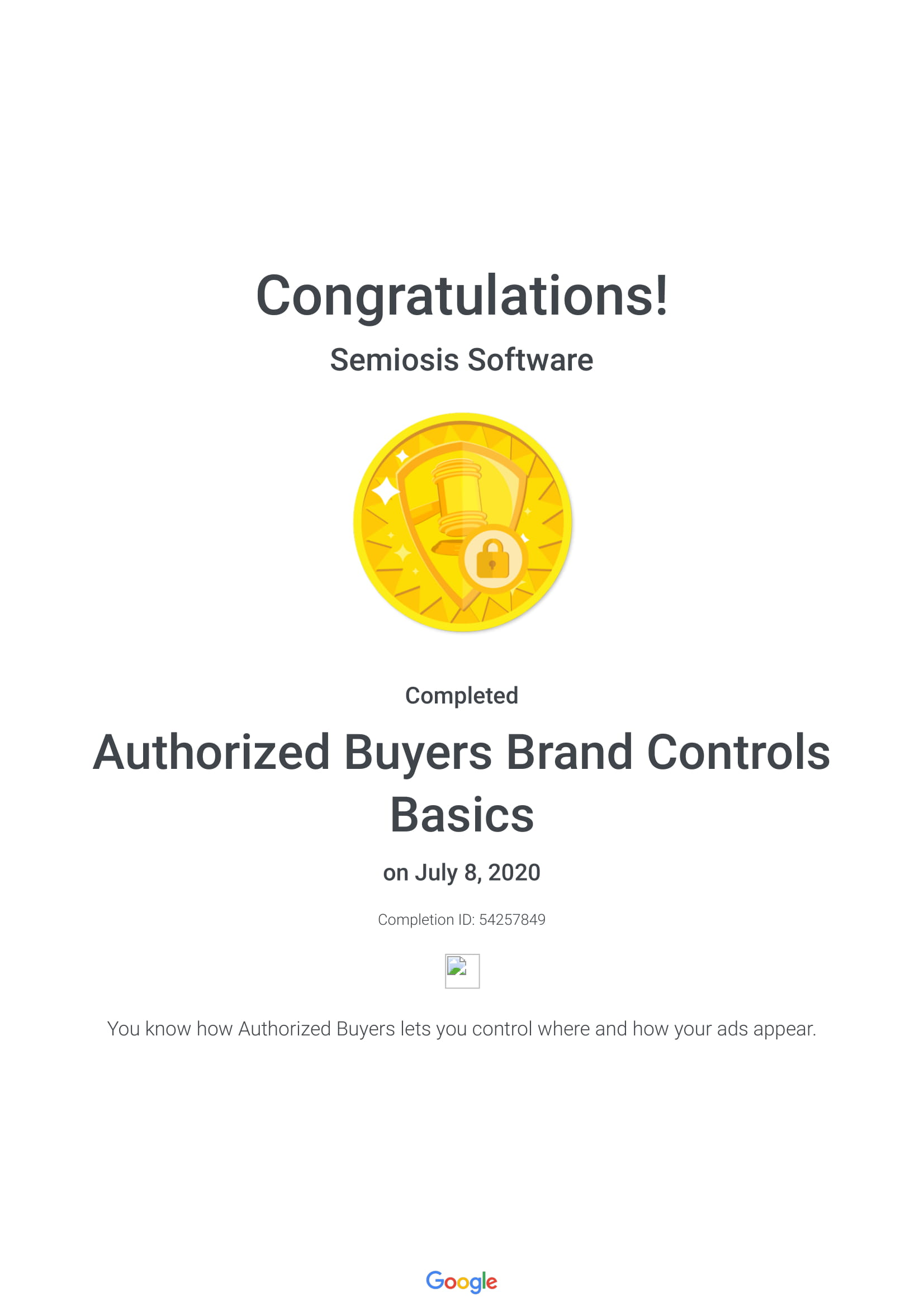 Authorized Buyers Brand Controls Basics