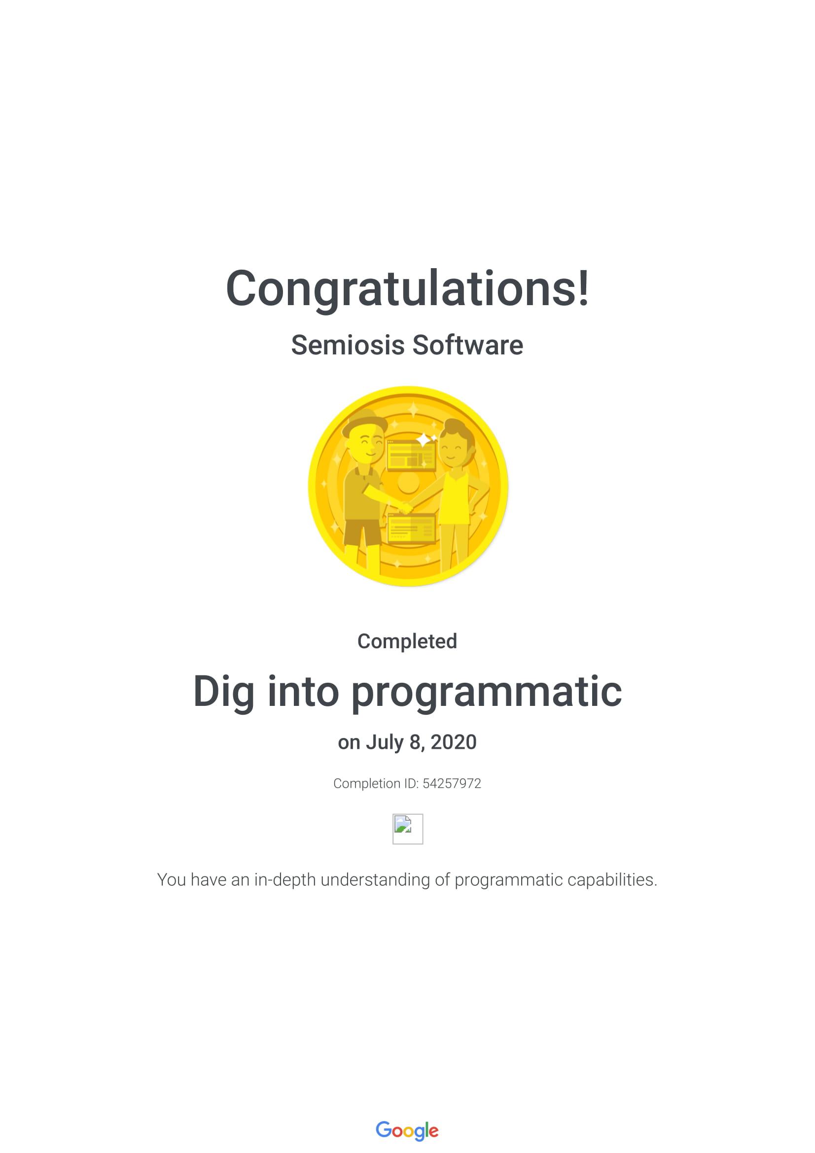 Dig Into Programmatic