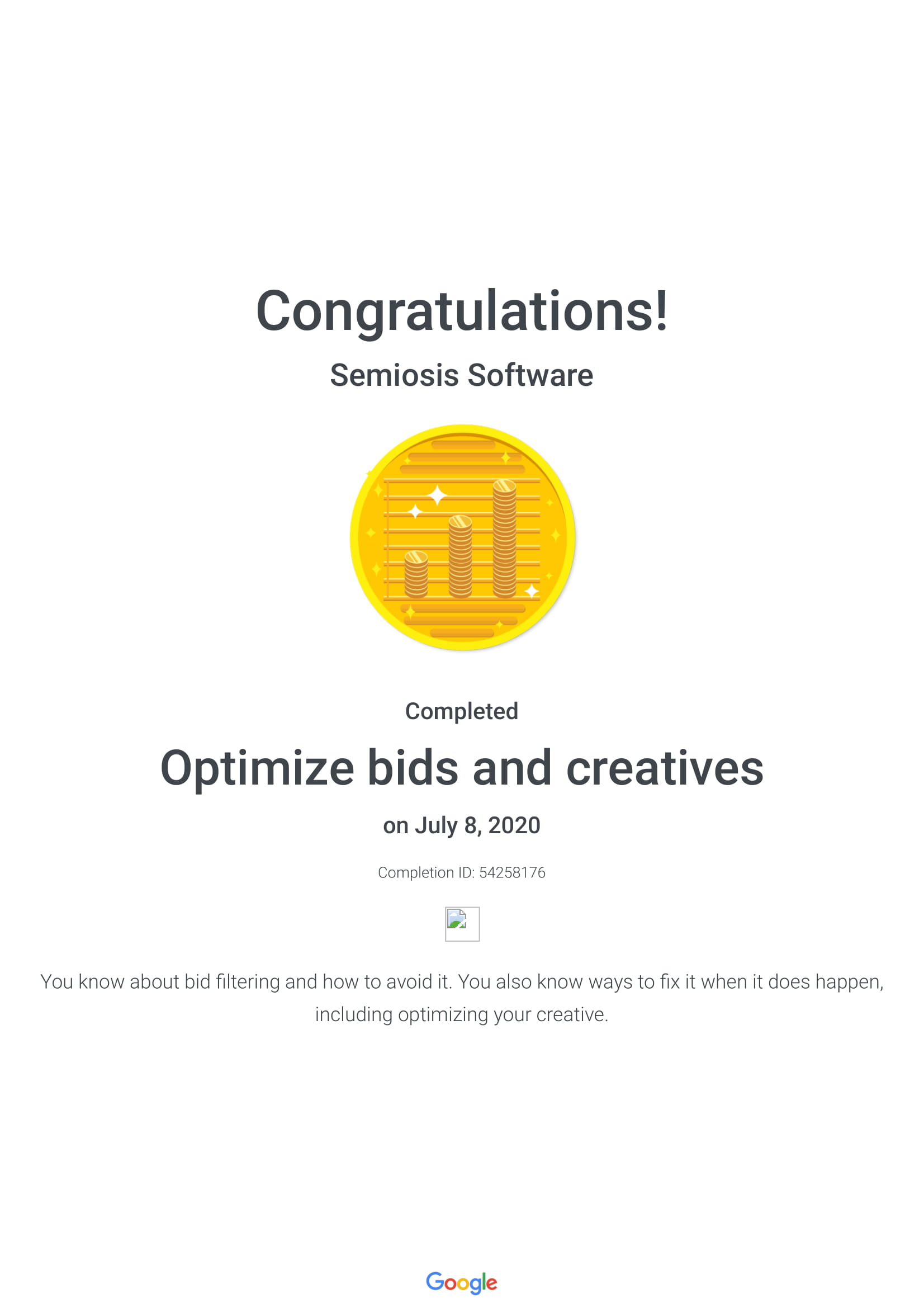 Optimize Bids and Creatives