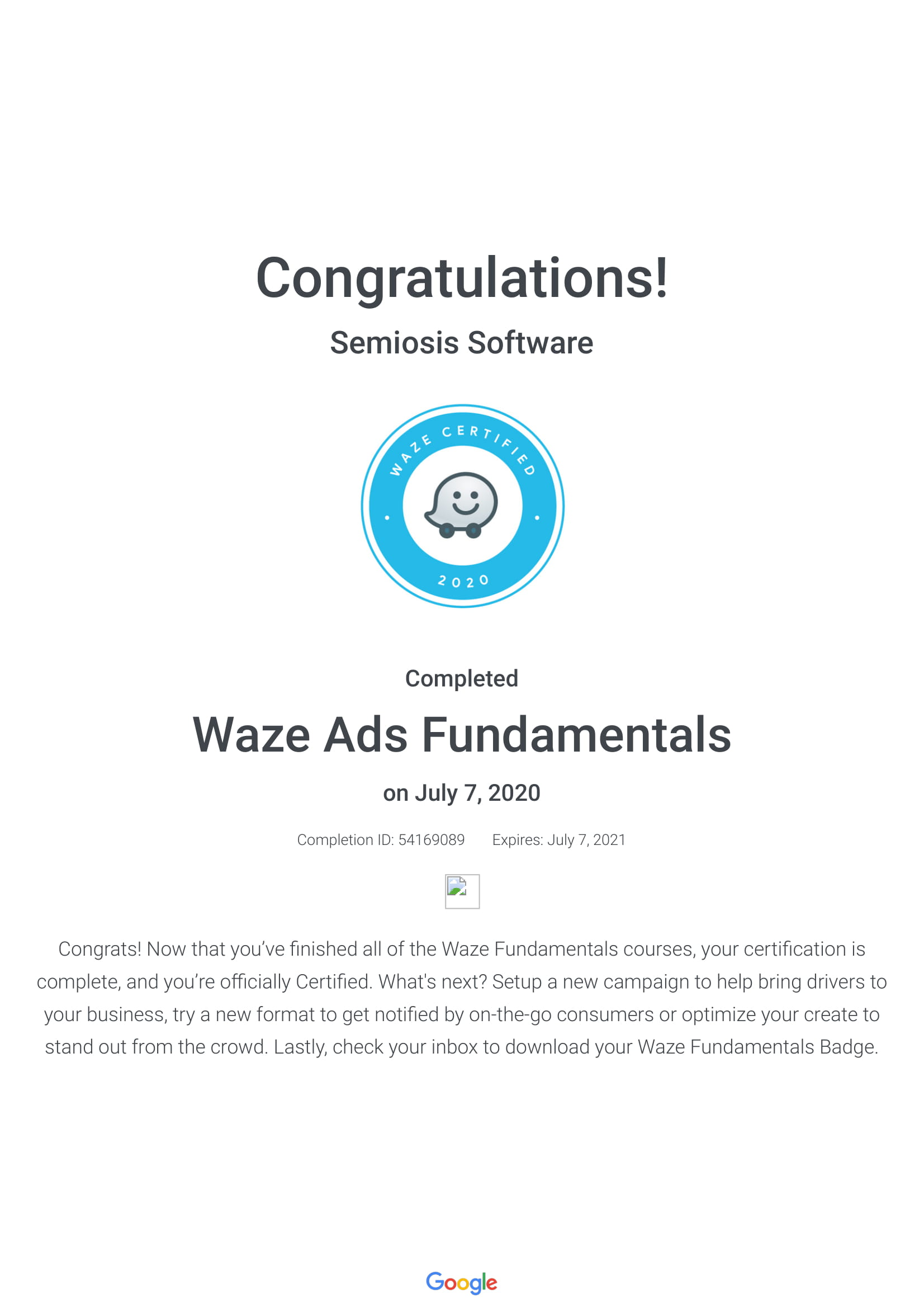 Waze Ads Fundamentals