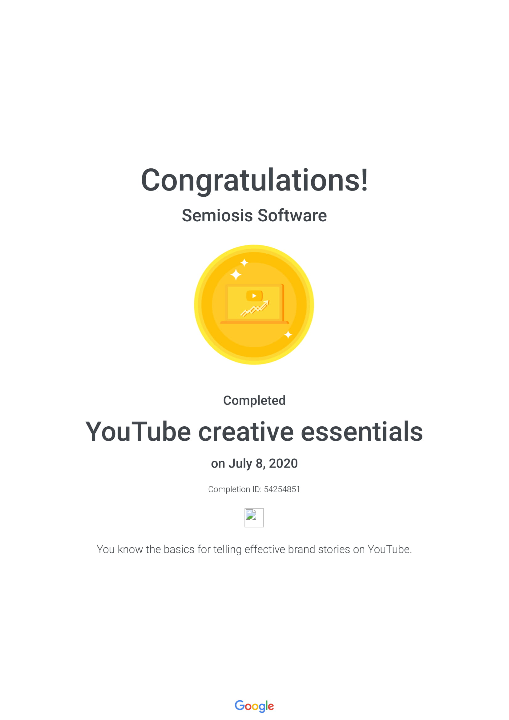 YouTube Creative Essentials